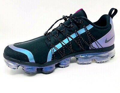 NIKE AIR VAPORMAX UTILITY THROWBACK FUTURE AQ8810-009 BLACK LASER FUCHSIA Sz12.5