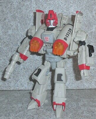 Transformers Universe Powerglide Complete Ultra White Variant