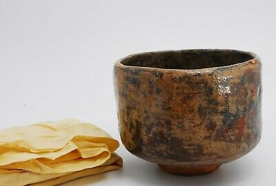 Japanese Old Pottery, TEA BOWL, Tea Ceremony, SADO, Chawan /520