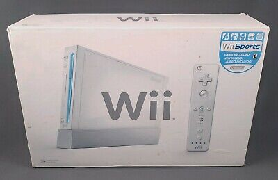 NINTENDO WII WHITE CONSOLE COMPLETE RVL-001 USA System TESTED WORKS