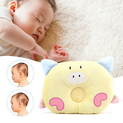 Baby Cot Pillow Newborn Infant Anti Flat Head Cushion for Crib Bed Neck Support