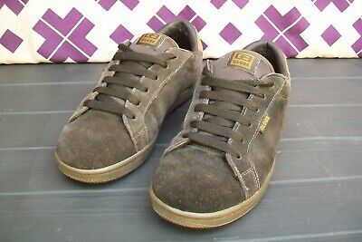 GLOBE FATAL Choco Brown Suede Skate Shoes TRAINERS UK 9  EUR 44