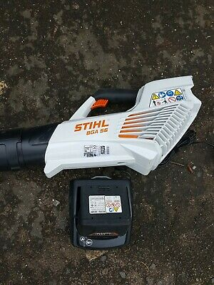 STIHL BGA 56 CORDLESS LEAF BLOWER With Ak20 battery And charger