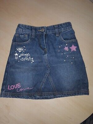 Girls denim skirt age 7-8 from George