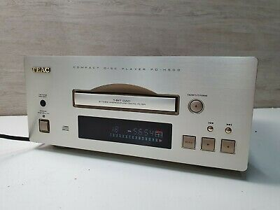 TEAC PD-H500 Light Gold Reference 500 Series CD Compact Disc Player