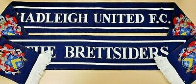Hadleigh United The Brettsiders Football Scarf New Soft Luxury Double Sided