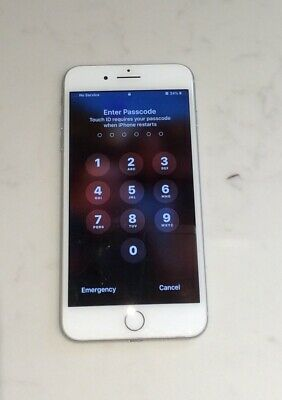Apple iPhone 7 Plus - 32GB - Silver (Unlocked) A1784 (GSM) - Used