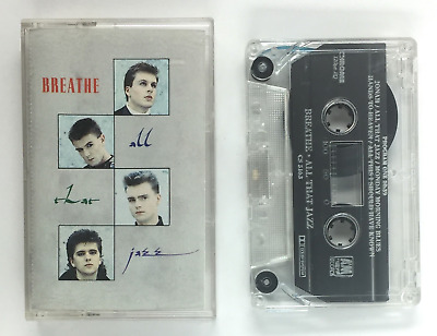 All That Jazz BREATHE Siren 1987 CASSETTE / ELECTRONIC SYNTH POP DANCE