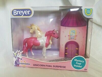 Breyer Mystery Unicorn Surprise Stablemate Set 6052 NEW LOT of 3!