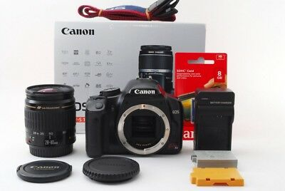 Canon EOS Kiss X2 / Rebel Xsi / 450D 12.2MP Kit Obiettivo [ EXC W/ Box,8GB SD