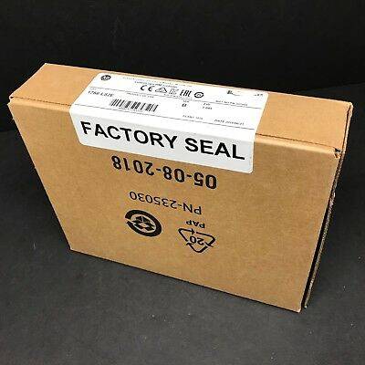 2018 New Sealed Allen Bradley 1756-L82E Ser B ControlLogix 5580 Processor 5MB