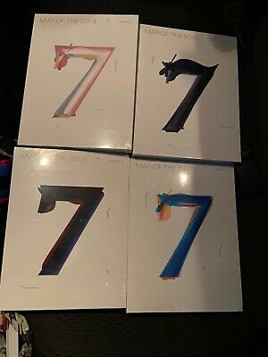 BTS MAP OF THE SOUL: 7 All Versions Sealed IN HAND