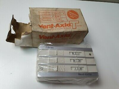 Vent Axia TSC Surface Mount Controller Speed Switch T-Series Fans 361119 Chrome