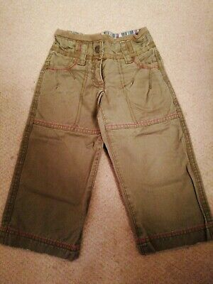 Girls Light Weight Casual Trousers FAT FACE Age 2 Years