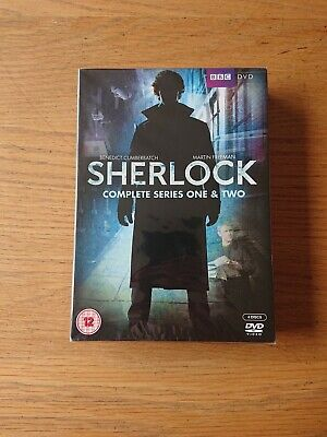 Sherlock: Complete Series One & Two DVD (2012) New & Sealed
