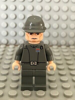 Imperial Officer Genuine lego Star wars mini-figure Excellent Condition.