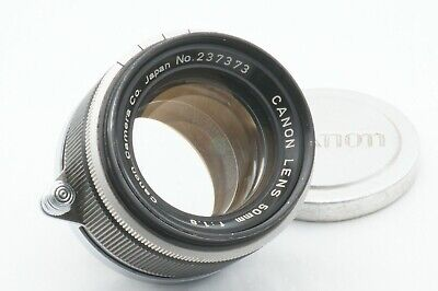 """""""TESTED / EXC++"""" CANON 50mm f1.8 Leica screw mount L39 LTM From JAPAN"""