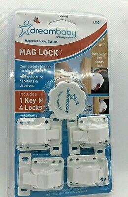 baby lock dreambaby classic 4 locks 1 key mag cabnet secure drawers cabnet se