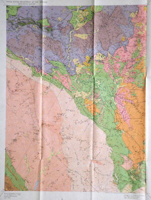 USGS CALIFORNIA GOLD! FRENCH GULCH SHASTA TRINITY Co CA Vintage 1964 with Maps!