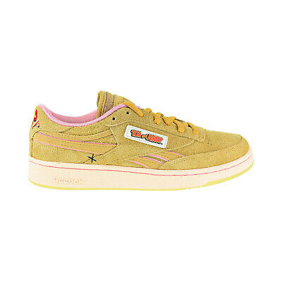 Reebok Tom And Jerry Club C Revenge Men's Shoes Bold Brass-Quiet Pink FW4632