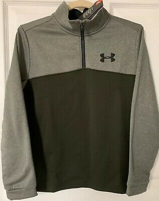 Boys Under Armour Long Sleeve Top Size YMD Age 10-12
