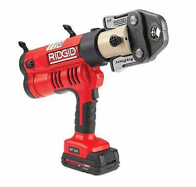 "RIDGID RP- 340 Cordless ProPress Tool Kit, 1/2"" to 2"", 43358"