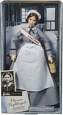 Barbie Inspiring Women Series Florence Nightingale Doll - NEW & SEALED!
