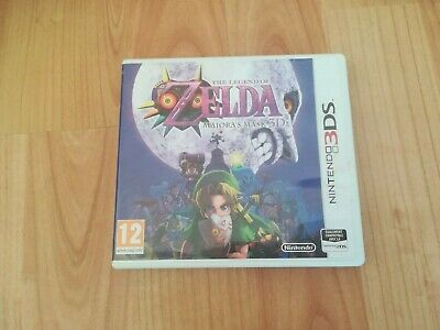 THE LEGEND OF ZELDA MAJORA'S MASK 3D sur NINTENDO 3DS  VF