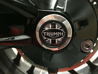 TRIUMPH TIGER 1200 EXPLORER all years LEFT HAND SIDE WHEEL SPINDLE BUNG U Jack