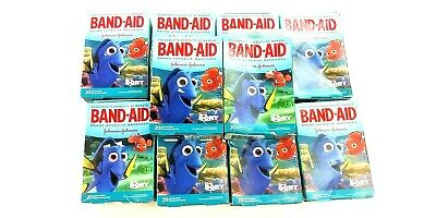 Lot x 10 Band-Aid Finding Dory Bandages 20 Assorted Sizes A1