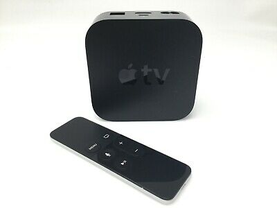 Apple TV 4th Generation HD Streaming Device with Remote A1625