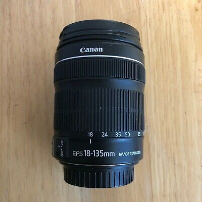 Canon EF-S 18-135mm f/3.5-5.6 STM IS EF-S Lens NR