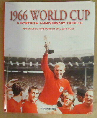 1966 World Cup England Signed Book