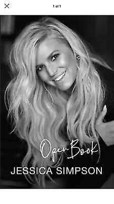 Open Book by Jessica Simpson (Hardcover) – February 4, 2020 New!!!