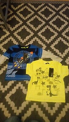 BNWT Brand New Boys T Shirts Age 18-24 months from George Dinosaur Space Rocket