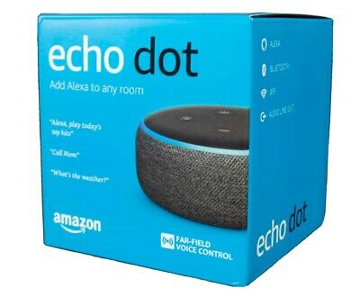 Amazon Echo Dot (3rd Generation) Smart Assistant Speaker - Heather Gray