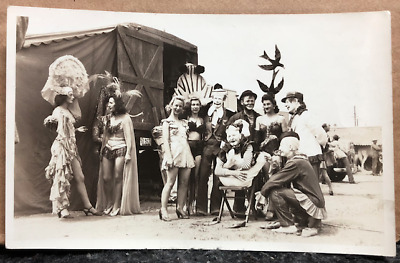 Remarkable.. Young Girl Contortionist Circus Vintage 5x7 Photo Print