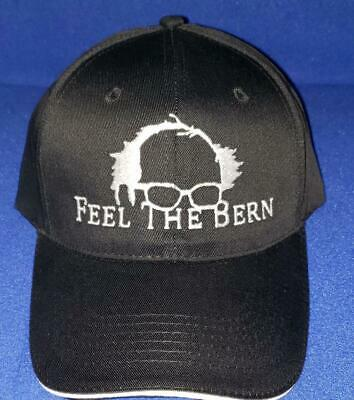 Feel the Bern Ball Cap   Bernie Sanders 2020 The Burn