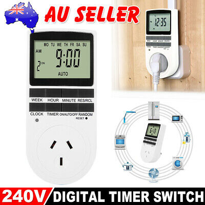 Digital Timer Switch 240V Automation Electric Programmable Powerpoint AU Plug