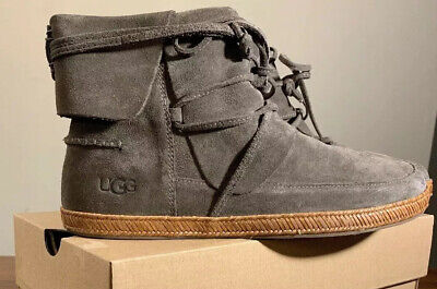 Ugg Reid 1019129 Slate Woman's Boots/ Booties 100% Authentic Band New Size 7