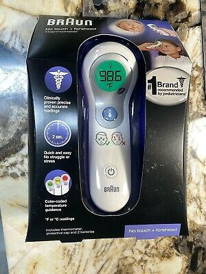 Braun No Touch Forehead Thermometer NTF3000 NEW SEALED FREE SHIPPING