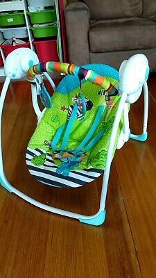 Bright stars Portable swing used