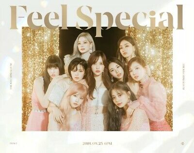 Twice 트와이스 Feel Special Album Ver.a Sealed -Cd+Book+Lyric+6P Cards+Gift 1P Card