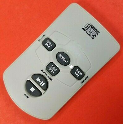 Compact Disc Digital Audio Replacement Remote Control CD Player - Grey - Tested