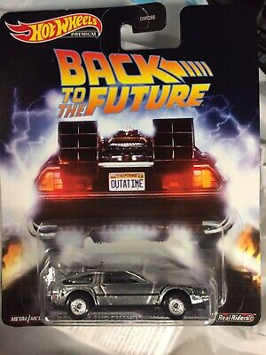 2020 Hotwheels Retro Entertainment Back To The Future Time Machine - Brand New