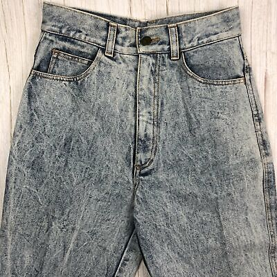 Contempo by Westcoast Vintage Acid Wash High Rise 80's Jeans- Size 10