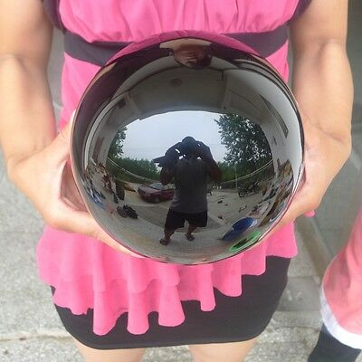Natural Black Obsidian Sphere Large Crystal Ball Healing Stones