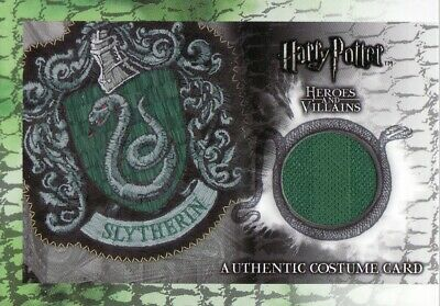 Harry Potter Heroes & Villains Slytherin Quidditch C9 Costume Card 366/480
