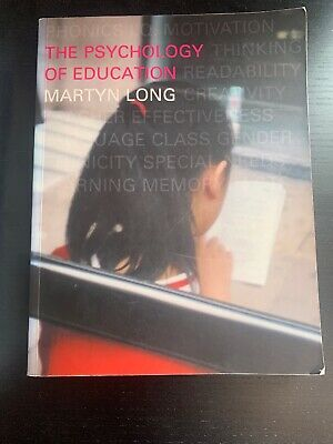 The Psychology of Education by Martyn Long (Paperback, 2000)