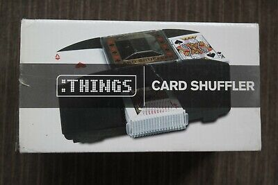 New Automatic Playing Card Shuffler Retro Casino Poker Deck Sorter Machine
